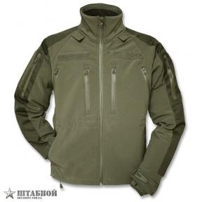 Куртка тактическая Soft Shell Max Fuchs - (Оливковая)