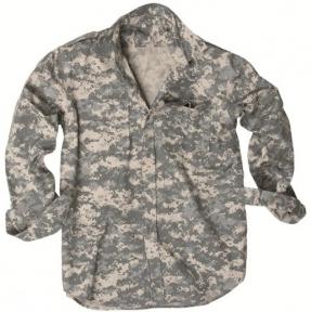 Рубашка с длинными рукавами Rip-Stop - Mil-tec (Пиксельная)