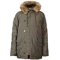Куртка зимняя Аляска N-3B - Chameleon (Оливковая)