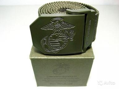Ремень USMC - Original United States (Оливковый)