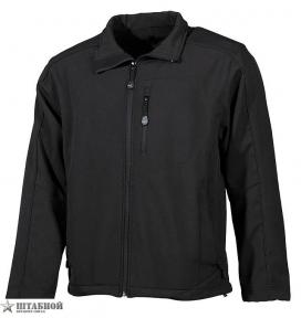Куртка Soft Shel Lusen - Max Fuchs (Черная)