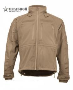 Куртка тактическая Soft Shell - Mil-tec (Койот)