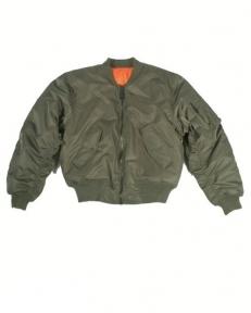 Куртка лётная MA1 США - Mil-tec (Оливковая)