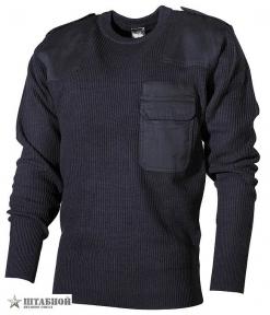 Пуловер BW акриловый - Max Fuchs (Синий)