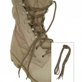 Шнурки полиэстер , 80 см - Mil-tec (Койот)