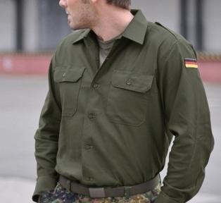 Бундесвер рубашка - Mil-tec (Оливковая)