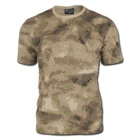 Камуфлированная футболка - Mil-tec (A-TACS FG)