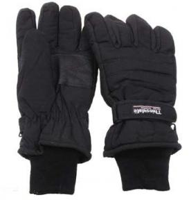 Перчатки зимние Thinsulate - Max Fuchs (Черные)