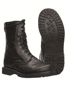 Ботинки кожаные TSR - Mil-tec (Черные)