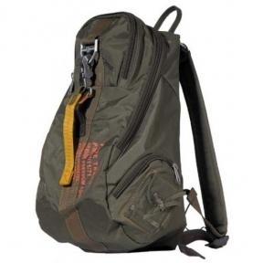 Рюкзак нейлоновый с карабином Pure Trash 30 л - Max Fuchs (Оливковый)