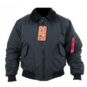 Куртка cwu c меховым воротником - Chameleon (Черная)