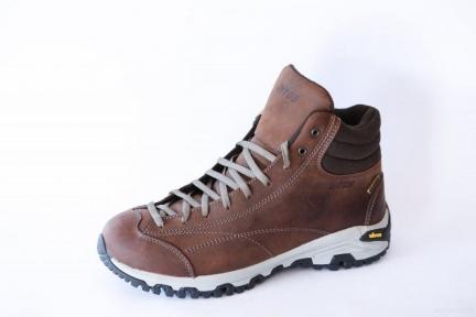 Ботинки LE FLORIANS HIGH 1, кожа + мембрана Tepor dry(Италия)+подошва VIBRAM - Lytos (Коричневые)