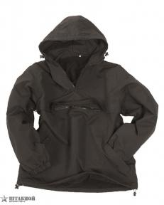 Куртка Анорак боевая с капюшоном зимняя - Mil-tec (Черная)