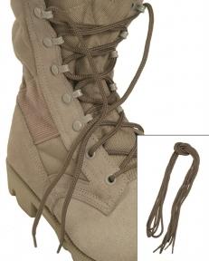 Шнурки, 180 см - Mil-tec (Койот)
