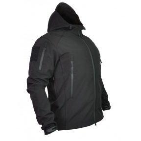 Куртка soft shell spartan (Черный)