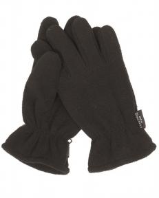 Флисовые перчатки Thinsulate - Mil-tec (Черные)
