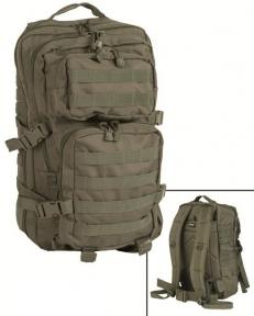 Рюкзак штурмовой Assault 36 л - Mil-tec (Оливковый)