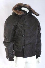 Куртка лётная N2B США (Аляска) - Mil-tec (Черная)