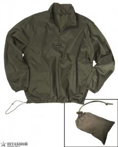 Куртка-ветровка с чехлом - Mil-tec (Оливковая)