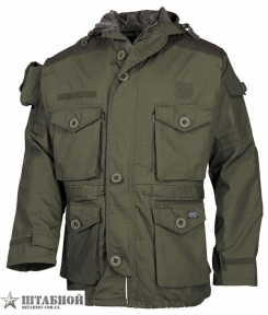 Куртка Командос Rip-Stop - Max Fuchs (Оливковая)