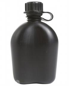Фляга пластиковая Mil-Tec 1Qt (Черная)